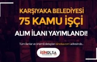 Karşıyaka Belediyesi En Az İlköğretim Mezunu...