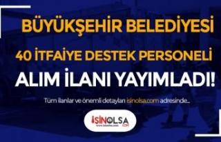 Kocaeli Büyükşehir Belediyesi BELDE 40 İtfaiye...