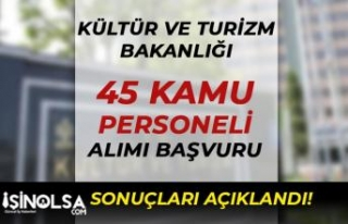 Kültür Bakanlığı ( Kapadokya ) 45 Kamu Personeli...