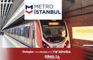 Metro İstanbul Lise Mezunu 44 Tren Sürücüsü Alımı...