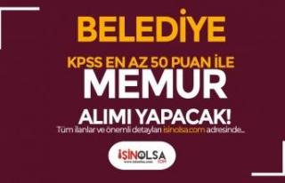 Osmaneli Belediyesi En Az 50 KPSS Puanı İle 6 Farklı...