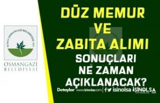 Osmangazi Belediyesi Düz Memur ve Zabıta Alımı...