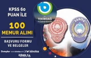 TBB 100 İtfaiye Eri ve Zabıta Memuru Alımı Başladı!...