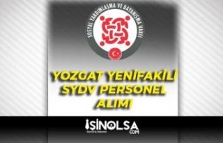 Yozgat Yenifakılı SYDV 3 Temizlik Görevlisi Alımı...