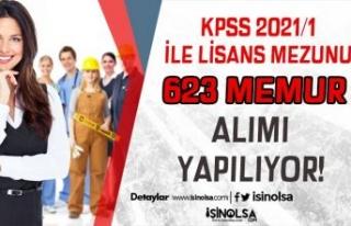 2021 KPSS Merkezi Yerleştirme İle Lisans Mezunu...