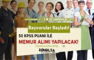 50 KPSS İle Tahsildar, Zabıta, İtfaiye Eri, VHKİ,...