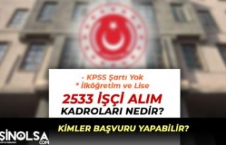 Askeri Fabrikalara 2 Bin 533 MSB İşçi Alımı İlköğretim...