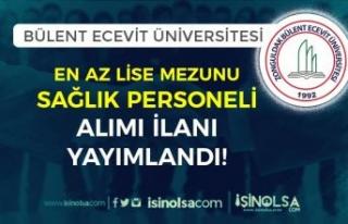Bülent Ecevit Üniversitesi En Az Lise Mezunu 36...