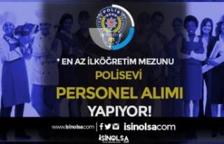 EGM Polisevi İŞKUR Üzerinde İlköğretim Mezunu...