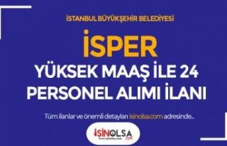 İstanbul Personel Yönetim Yüksek Maaş İle 24...