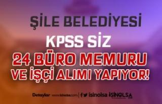 İstanbul Şile Belediyesi 24 Çöpçü, İşçi,...