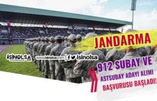 Jandarma Lise Mezunu 912 Subay ve Astsubay Adayı...