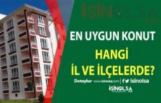 Konut Almak İçin Türkiye'nin En Uygun İl Ve...