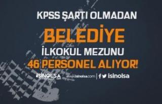 Konya Kulu Belediyesi İlkokul Mezunu KPSS siz 46...