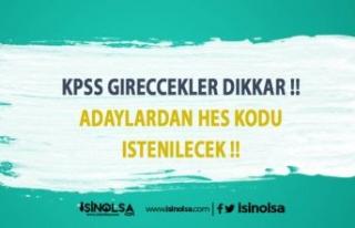 KPSS 'ye Girmeye Hazırlanan Adayların Dikkatine!!!...
