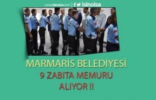 Marmaris Belediye Başkanlığı'na 9 Adet Zabıta...