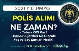 PA 2021 Yılı PMYO Polis Alımı Ne Zaman? Kontenjan...