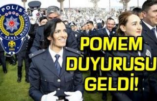 Polis Akademisinden POMEM Duyurusu! 27. Dönem için...