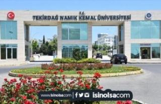 Tekirdağ Namık Kemal Üniversitesi KPSS İle Sağlık...