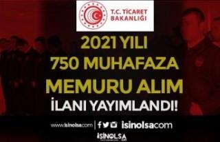 Ticaret Bakanlığı 25 İlde 2021 Yılı 750 Muhafaza...