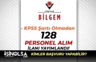 TÜBİTAK BİLGEM 128 Ar-Ge ve Teknik Personel Alımı...