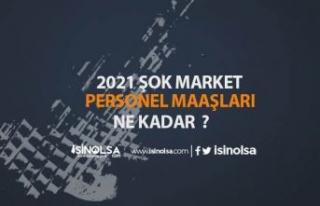 2021 Yılı İtibarıyla Şok Market Çalışanları...