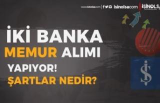2 Banka (Kalkınma ve İş Bankası) KPSS siz Memur...
