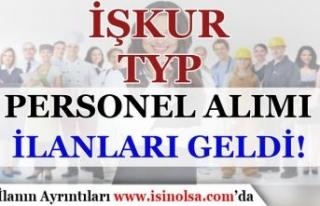 6 Eylül Okullar Başlıyor! İŞKUR TYP Personel...