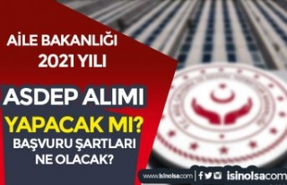 Aile Bakanlığı Türkiye Geneli 2021 Yılı 1000...