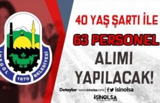 Bursa İnegöl Belediyesi 40 Yaşından Küçük 63...