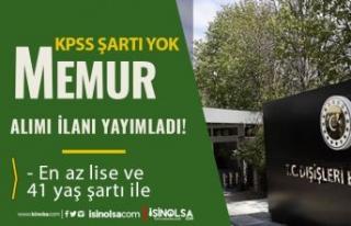 Dışişleri Bakanlığı TURKUNO 2 Memur Alımı!...
