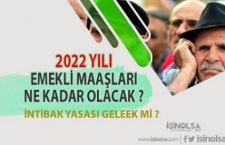 Emeklilere 2022 İçin Beklenen Maaş Ne Kadar ? İntibak...