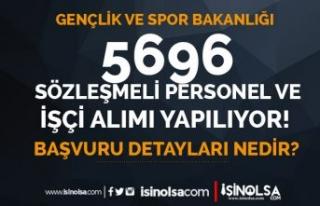 GSB 5696 Sözleşmeli Personel ve İşçi Alımı...