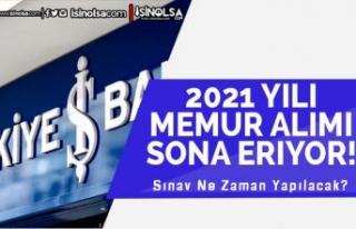 İş Bankası 2021 Banka Memur Alımında Son Gün