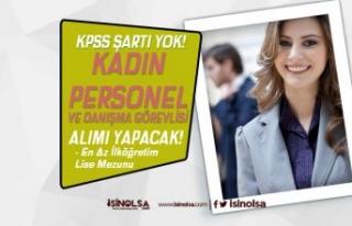 Kadın İstihdamı Artıyor! Antalya'da KPSS siz...
