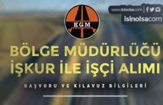 Karayolları ( KGM ) Bölge Müdürlüğüne İŞKUR...
