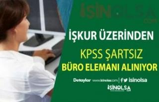 KPSS Şartsız 3100 Kişilik Büro Memuru Alımı...