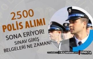 Lise Mezunu 2500 Polis Alımı Sona Eriyor! 2021 PMYO...