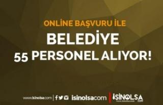 Melikgazi Belediyesi Online Başvuru İle 55 Personel...