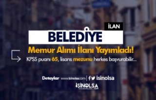 Osmaneli Belediyesi 65 KPSS İle Lisans Mezunu Memur...