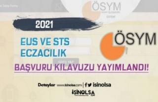 ÖSYM 2021 EUS ve 2021-STS Eczacılık Başvuru Kılavuzu...