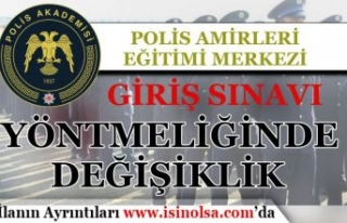Polis Akademisi PAEM Giriş Sınavı Yönetmeliğinde...