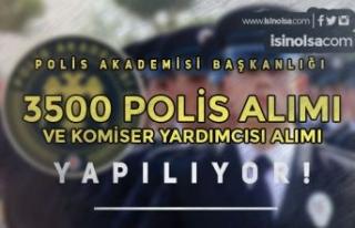 Polis Akademisi PMYO ve PAEM İle 3500 Polis Alımı...