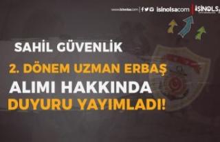 Sahil Güvenlik 2. Dönem Uzman Erbaş Alımı Sınav...