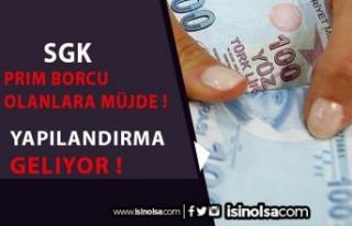 SGK'ya Prim Borcu Olan Vatandaşların Yüzünü...