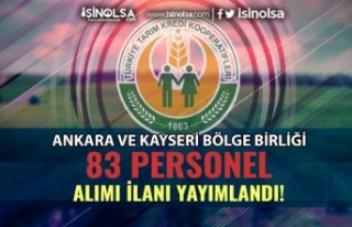 Tarım Kredi Kooperatifleri Ankara ve Kayseri Bölgesinde...