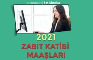 Zabıt Katibi Maaşları Ne Kadar? 2021 Adalet Bakanlığı