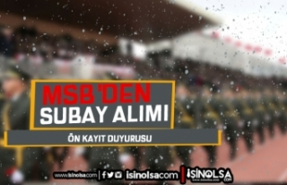 2021 TSK Subay Alımı Duyurusu Yayımlandı! Ön...