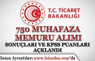 750 Muhafaza Memuru Alımı Sonuçları Açıklandı!...