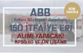 ABB Ön Lisans Mezunu ve 60 KPSS İle 150 İtfaiye...